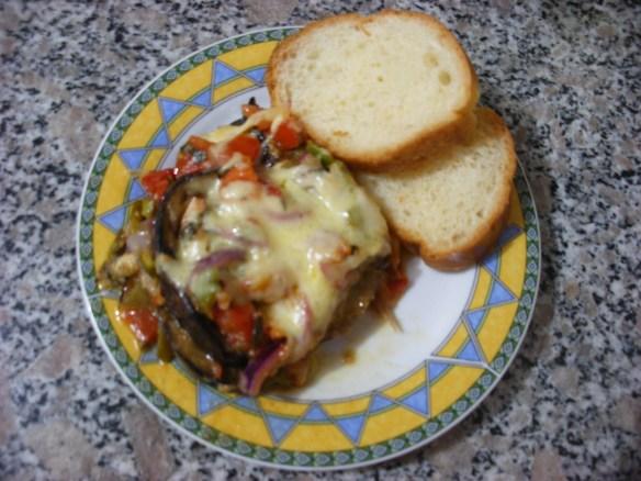 Eggplant Parmasan