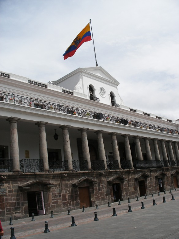 Old Town, Quito - Presidential Palace